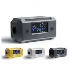 Digital Monitor Flow Meter Thermometer For DIY Water Cooling System Fast Ship