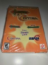 KONAMI COLLECTOR'S SERIES CASTLEVANIA & CONTRA (PC, 2002) NEW AND SEALED Rare