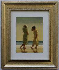 Finali Toes by Jack Vettriano incorniciato & montato Art Print PICTURE GOLD