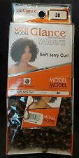 Model Glance Weave Soft Jerry Curl Color 30 Hair That Dazzles Flame Retardant
