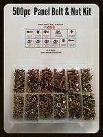 NUT & BOLT KIT 500pc SUIT Datsun 1000,1200,1600,510,180b,200b,240,260,280Z,Coupe
