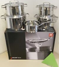 Zwilling Passion Cookware Set 5pcs. Stainless Steel Dishwasher Safe Genuine