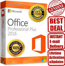 Microsoft Office 2016 Professional Plus For Windows Produck Key Download Link
