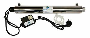 Ultra Violet 25W UV Water Treatment System 18lpm Whole House Steriliser Filter