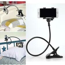 Long Arm Mount Lazy Universal Bed Clip on Stand Holder For GPS Mobile Cell Phone
