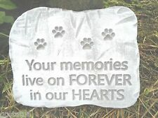 animal dog pet plaque mold garden ornament stepping stone mould