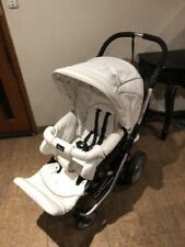 4 Wheels Double Prams with Lockable Swivel Wheels