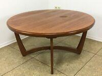 70er Jahre Teak Tisch Beistelltisch Coffee Table Danish Modern Design Denmark