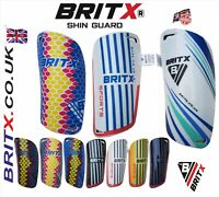 BRITX Shin Pads Soccer Football Hockey Shin guard Ankle Protectors Kids Youth