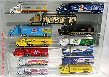 Diecast Truck 1:64 Display Case 14 Semi / Haulers