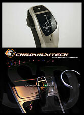 2003-11 BMW E83 X3 Cromato LED Cambio Pomello del Cambio Per Lhd W / GEAR Posizione Luce Nuovo