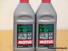 12,90€/l Motul Multi HF 2 x 1 Ltr synthetische Hydraulikflüssigkeit VW BMW MB