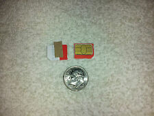 MetroPCS CDMA MICRO SIM CARD TESTING&BYPASS ONLY! NOT FOR ACTIVATION! READ INFO!