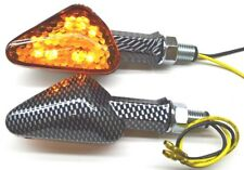 DMP LED Offset Arrow Turn Signal Amber Motorcycle Lighting  60-1915A