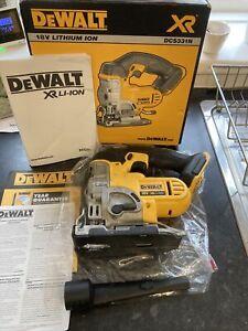 DEWALT DCS331N 18v XRL1-ION CORDLESS JIGSAW BODY ONLY Boxed
