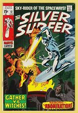 SILVER SURFER #12 VF/NM (9.0) **Abomination Appearance & Battle Cover**