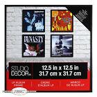 "LP Vinyl Album Black Metal Display Frame by Studio Decor (12.5"" x 12.5"")"