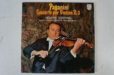 Paganini Violinkonzert 3 Henryk Szeryng LSO Alexander Gibson (LP15)
