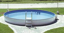 Stahlwandbecken Pool Schwimmbecken 4,50 x 0,90m + skimmer + Pumpe EasyPool