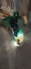 Plug In Wine Bottle Lights Up With Decorations