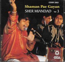 Sher miandad - Shaman PAE GAYAN - NUEVO BEST qawalies CD