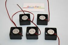 Lot of 5x T&T 4020HH05B-PD5 CPU Cooling Fan 5VDC 0.44A 40x40mm