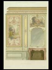 PETIT SALON, STYLE REGENCE - 1900 - GRANDE LITHOGRAPHIE, DECORATION, PEINTURE