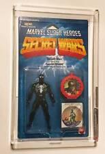 Marvel Super Heroes Secret Wars Spider-Man Black Costume AFA 85 Mattel 1985