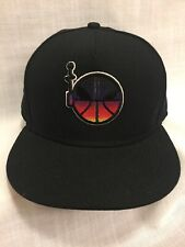 4416bea3450 Nike Basketball Hat Fitted Black Multi color Alien Front Panel Size 7 1 2  New