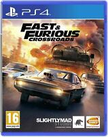 Fast & Furious Crossroads (PS4) *Brand New & Sealed* Playstation 4 Game