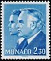 "MONACO STAMP TIMBRE 1283 "" PRINCE RAINIER III ALBERT, 2 F 30 BLEU "" NEUF xx TTB"