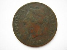 More details for cyprus 1889 bronze half piastre fair with digs to both sides
