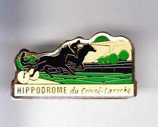 RARE PINS PIN'S .. SPORT CHEVAL HORSE TROT HIPPISME CROISE LAROCHE LILLE 59 ~A4