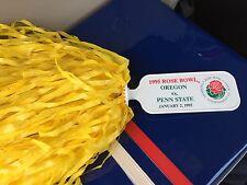 Vintage 1995 Rose Bowl Pom Pom Oregon Ducks Collectible Penn State Rare Cute