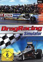 Drag Racing Dragracing Simulator für Pc Neu Ovp Deutsch