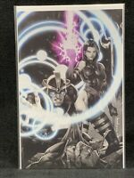X-MEN #8/ KAEL NGU/ Color Splash Virgin Variant/ Psylocke/ Havok/ Wolverine/ BnW