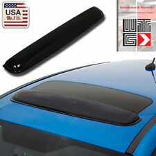 "WTG 35"" / 880mm JDM Style SUN/MOON ROOF GUARD SMOKE WIND DEFLECTOR VISOR"