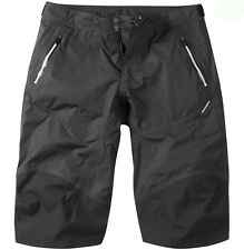 Madison Addict Mens Waterproof Baggy MTB Bicycle Bike Shorts Black XLarge