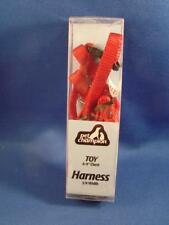 """Pet Champion Toy Dog Harness Red 6""""-9"""" Chest  3/8"""" Width BRAND NEW"""