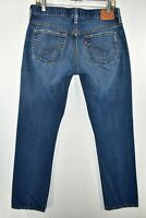 Levi's 501 Button Fly Jeans Womens Size 29x32 Blue Meas. 30x31.5