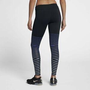 Nike Epic Lux Flash Running Tights 856680 Black/Purple or Khaki/Silver