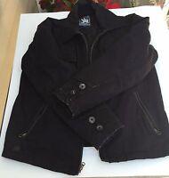 Spiewak Black Uniform Jacket L Insulated Thinsulate Cotton Nylon