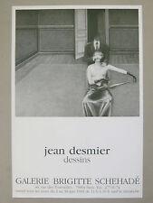 DESMIER Jean Affiche originale 83 Dessins Erotisme Femme Curiosa poster Erotic