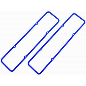 SB Chevy Valve Cover Gaskets - Blue Nitrile Rubber with Steel Core    R7484X