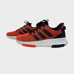 GENUINE CLOUDFOAM Boys Trainers Size UK 2 EU 34 Orange Sneaker