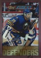 1995-96 (SABRES) Finest Refractors #72 Dominik Hasek B