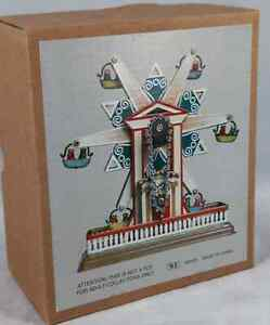 STAR  FERRIS WHEEL CLASIC WIND UP TIN TOY CHRISTMAS GIFT CLASSIC COLLECTIBLE
