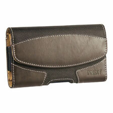 Horizontal Leather Pouch Case Cover Belt Clip Holster For Large Phones Otterbox