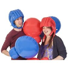 Tobar Inflatable Boxing Set - Giant Gloves Head Gear Helmet Family Game