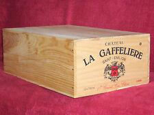 1998 CHATEAU LA GAFFELIERE, 12 x 0,75l in OHK  !!! 89 PARKER !!!